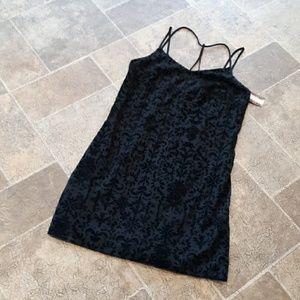 NWT Xhilaration women's size M velour mini dress